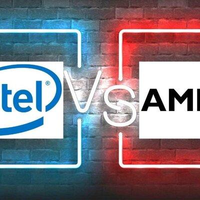 Intel x AMD timeline