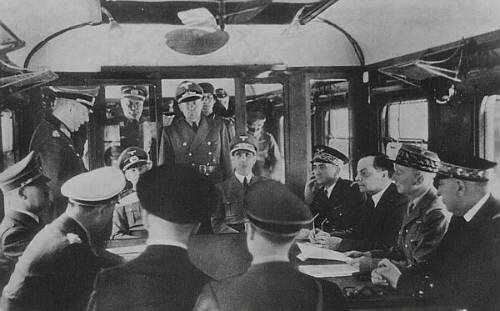 Francia firma un armisticio con Alemania nazi