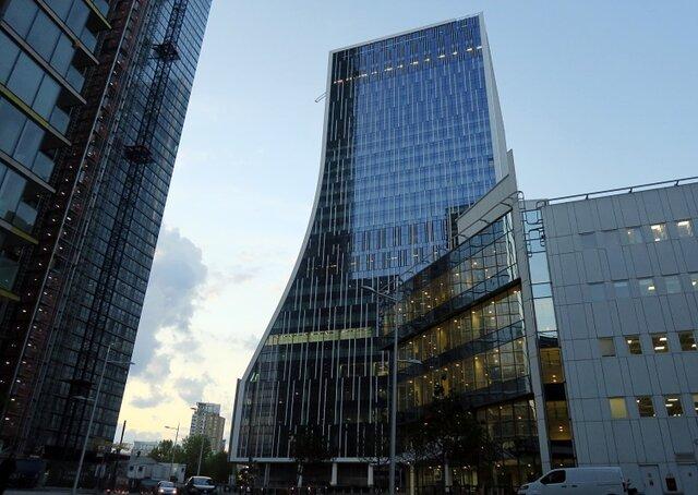 One & Five Bank Street London