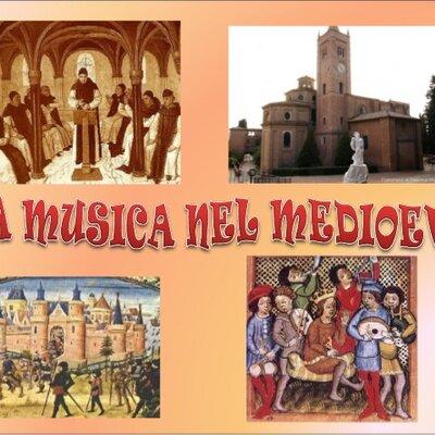 La Musica nel Medioevo - Linea del Tempo timeline