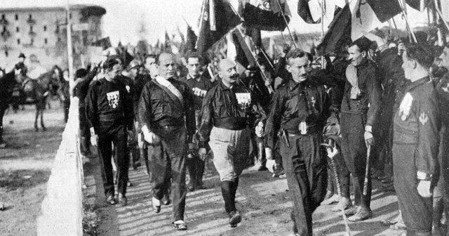 La marcha sobre Roma.