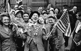 Fin de La Segunda Guerra Mundial.
