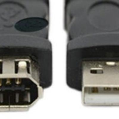 USB vs FireWire timeline