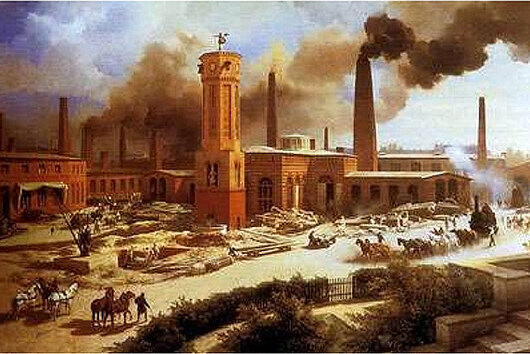 La primera revolución industrial (Siglo XVIII)