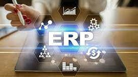 planificación de recursos empresariales (ERP). timeline