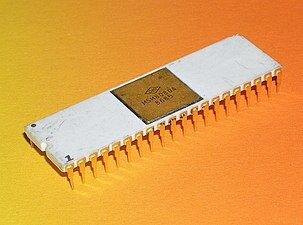 O promeiro microprocessador 8 bits