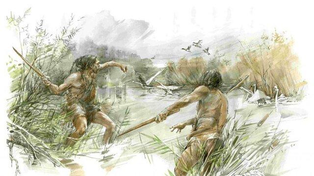 Prehistoria avance tecnológico: Lanzas