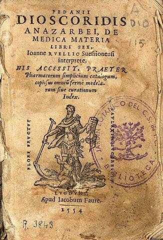 Dioscórides-Edad antigua