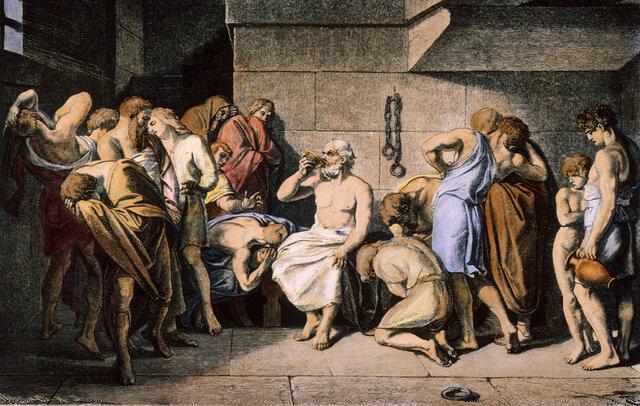 Veneno fines criminales-Edad antigua