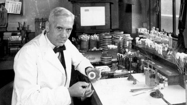 Edad contemporánea avance científico: Descubrimiento de la penicilina