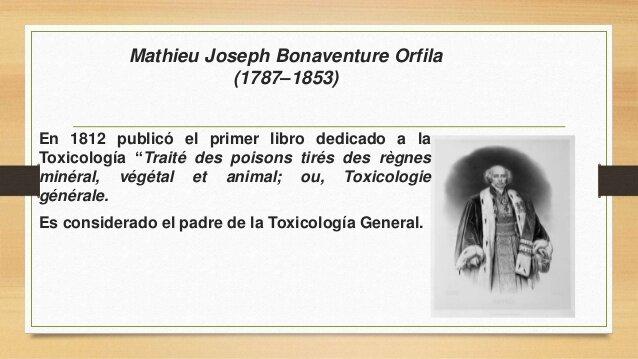 Primer tratado de toxicología general-Edad contemporánea