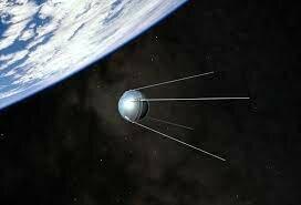 Los rusos pusieron en órbita el satélite Sputnik.
