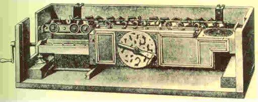 Calculadora universal del Leibniz