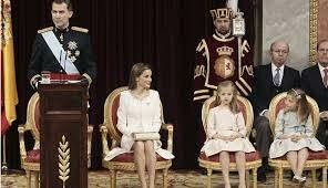 Juan Carlos I's abdication, his son proclaimed Felipe VI