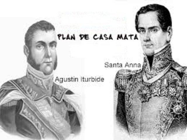 Desconocen a Iturbide