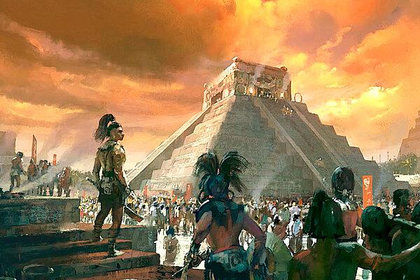 Los primeros sociedades americanas: Las mayas
