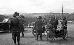 Yugoslavia se rinde ante los alemanes