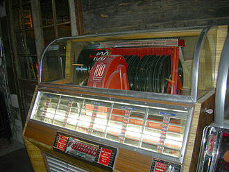 Jukebox with 45s