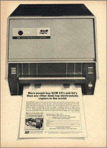 SCM Machine