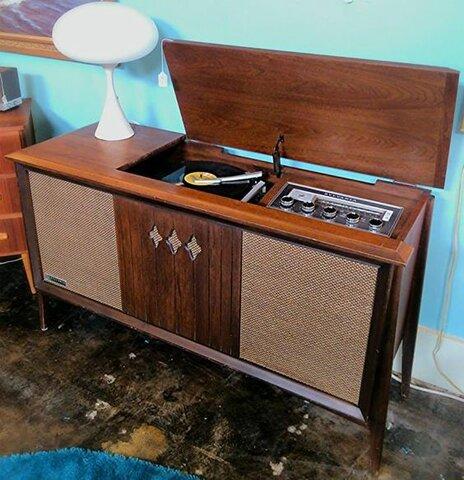 Radio/Record Player Cabinet