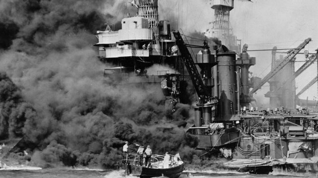 Ataque japonés a Pearl Harbor
