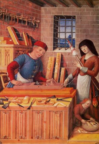 Edad media / artesanal