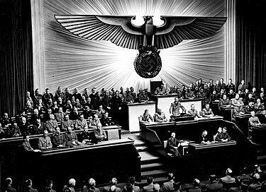 Alemania declara la guerra a Estados Unidos