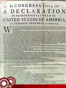 Las 13 colonias declararon su independencia
