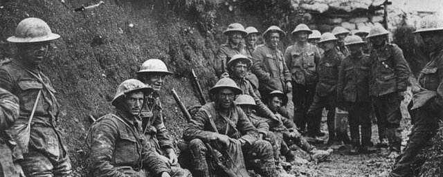 Primeira Guerra Mundial (1914 a 1918).