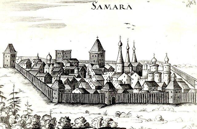 По указу царя Федора Иоанновича была основана крепость Самара.