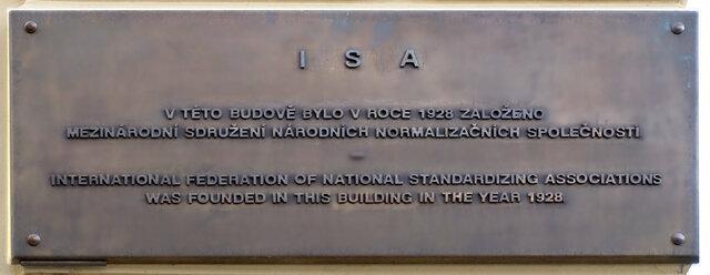 Fundación de la ISA (Federación Internacional de las Asociaciones Nacionales de Normalización)