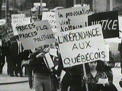 The FLQ Crisis during the Quiet Revolution