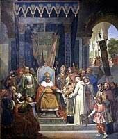 Avènement de Charlemagne