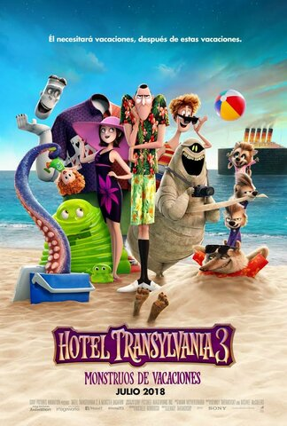la película hotel transylvania 3