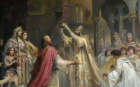 couronnement Charlemagne
