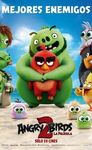 la película the angry birds movie 2.