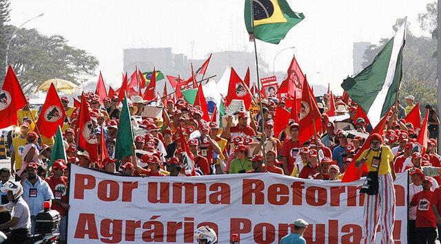 Movimiento de los Trabajadores sin Tierra en Brasil