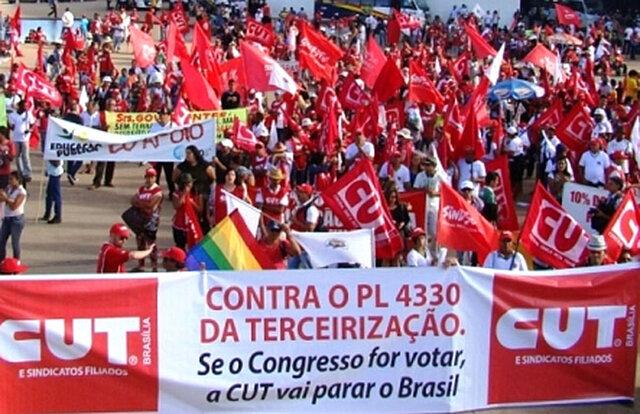 Fuerza Sindical en Brasil