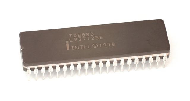 Primeiro processador com 16 bits da Intel