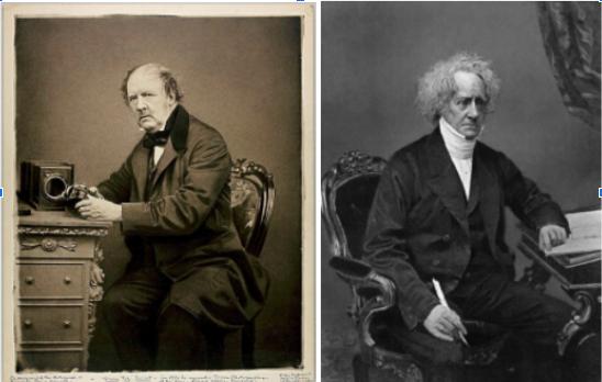 William Fox Talbot & John Herschel