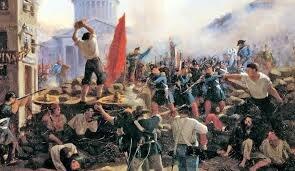 Comuna de París – movimiento socialista y revolucionario en París.