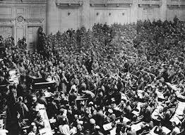 Revolución rusa e inicio del comunismo.