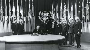Creación de la Organización de las Naciones Unidas – ONU