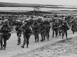 Guerra de las Malvinas entre Argentina e Inglaterra.