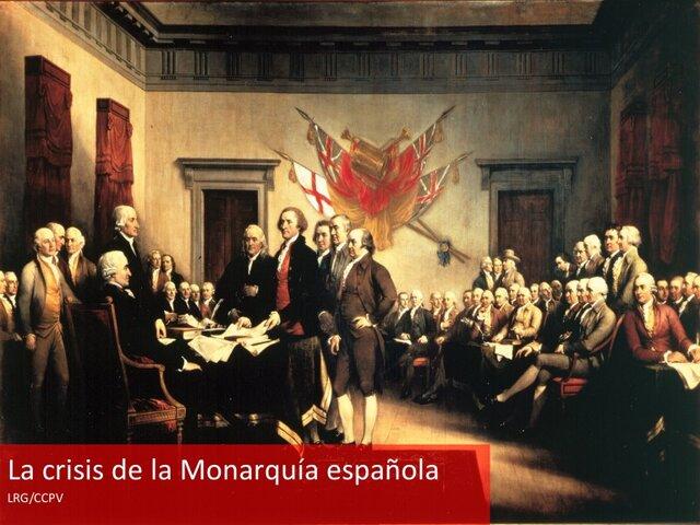 Crisis de la corona Española - Guerras en Europa