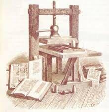 La imprenta creada por Gutemberg
