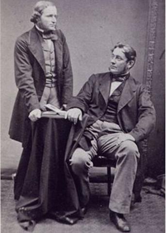 Robert Bunsen & Gustav Kirchhoff