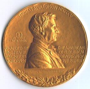 Medalla de oro de Edison