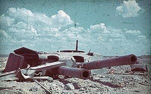 Sebastopol (URSS) bajo control alemán