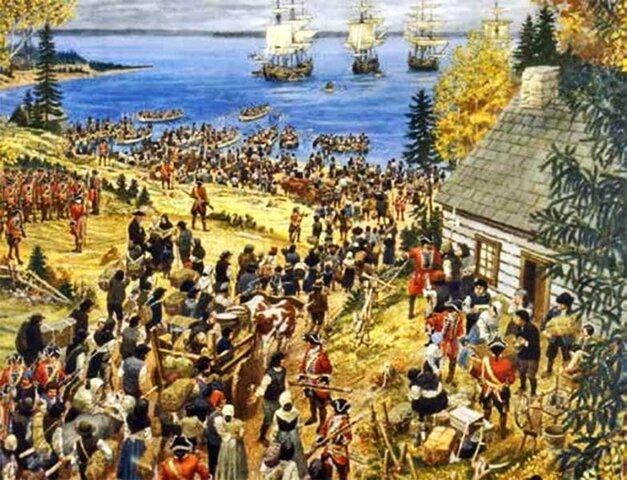 Déportation des Acadiens